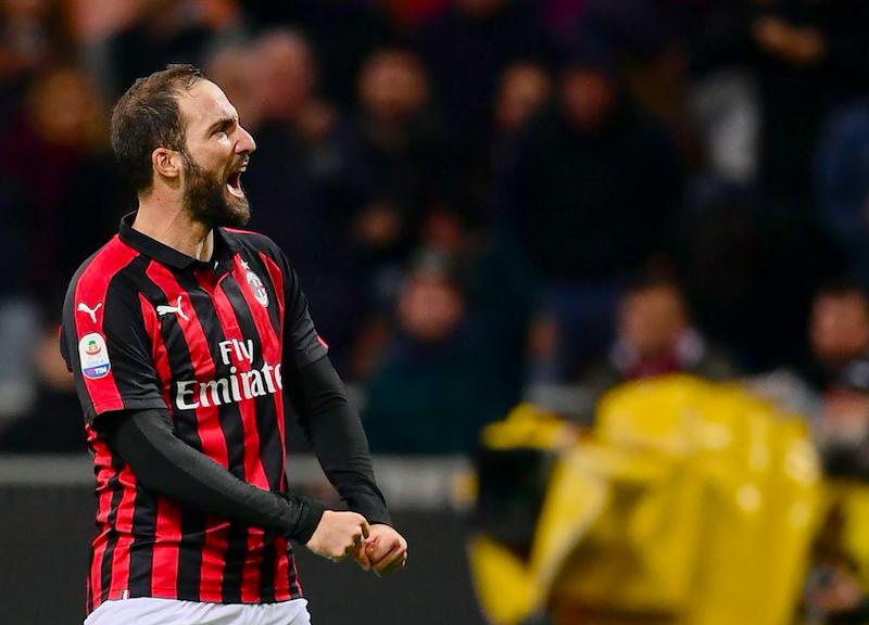 Milan, arrivata la comunicazione del club a Higuain: avvisata anche la Juve