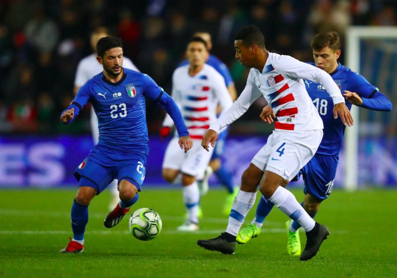 """Italia, c'è un rivelazione contro gli Stati Uniti. Di Gennaro: """"Ha fatto una partita sublime"""""""