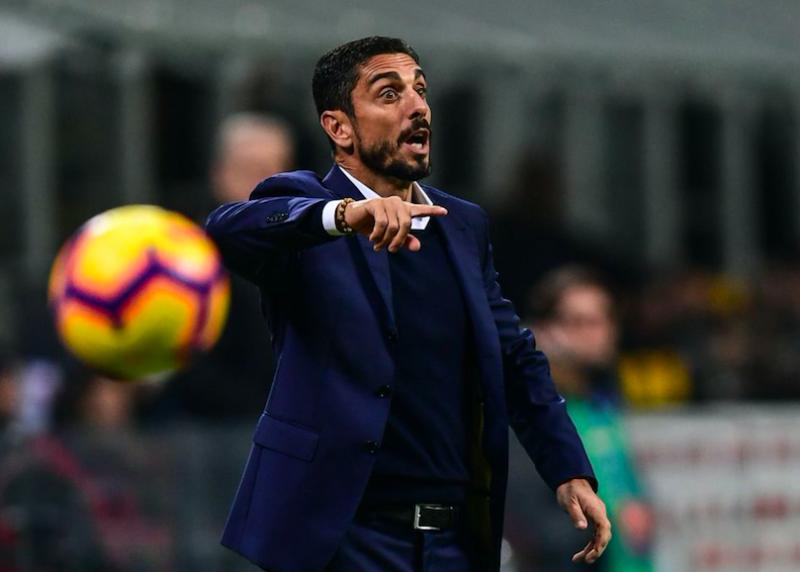 Il Frosinone cambia allenatore, esonerato Moreno Longo: già scelto il sostituto