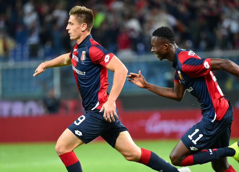 Genoa, la formazione ufficiale in Coppa Italia: c'è Lapadula, sorpresa Piatek