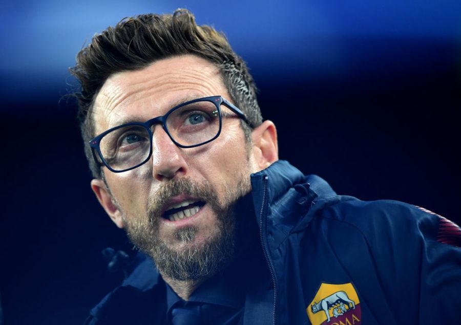 """Di Francesco: """"Under e Perotti, ecco i tempi! L'infortunio di Schick, Manolas, il titolare in porta…"""""""