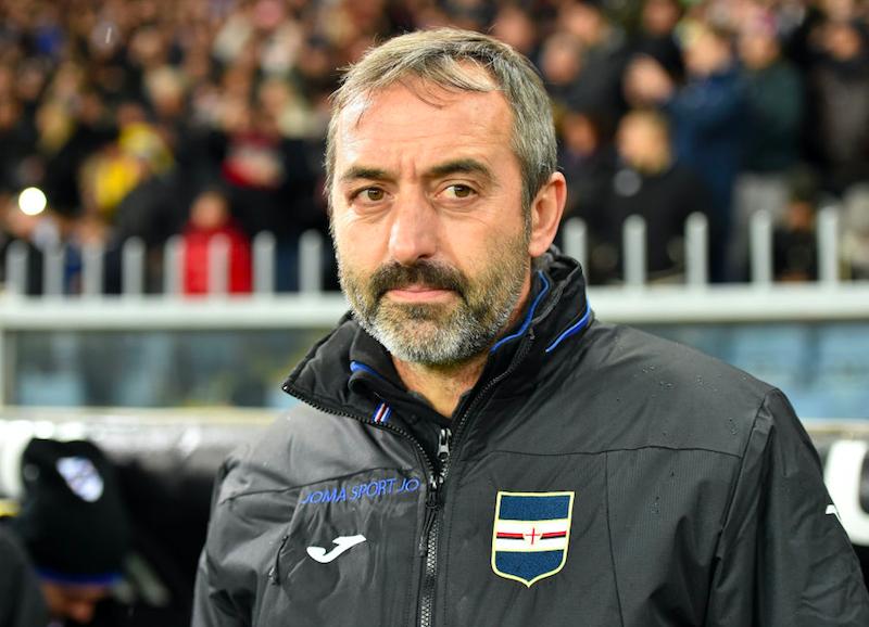 """Giampaolo: """"Punto su Vieira! Perché Caprari e non Defrel, Quagliarella non si gestisce"""""""