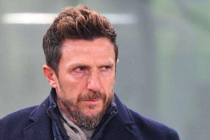 """Di Francesco: """"Schick somatizza! Due nuovi infortunati: perdo Perotti, Pastore è tornato"""""""