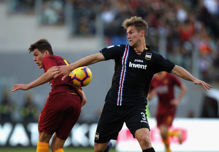 """Sampdoria, il padre-agente di Andersen avvisa: """"Se un grande club ci chiama per gennaio…"""""""