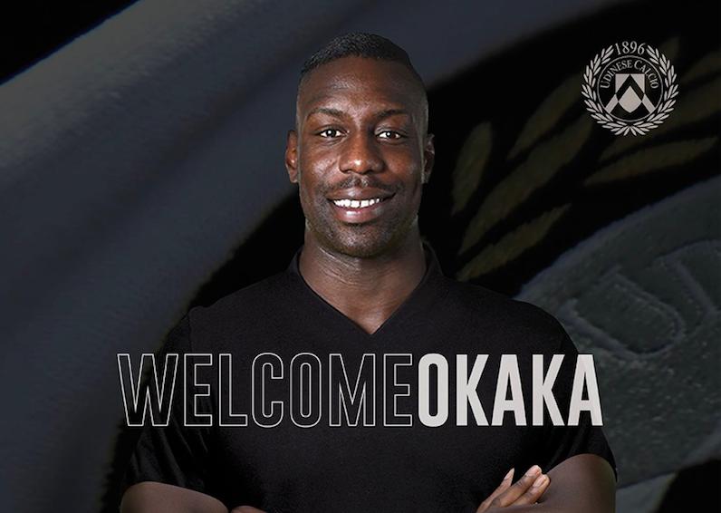 """UFFICIALE – L'Udinese annuncia Okaka: """"È forte, bravo nel gioco aereo"""""""