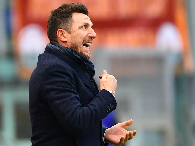 """Di Francesco: """"Dzeko non può stare a due gol! Kolarov può fare il centrale, Schick con Edin…"""""""
