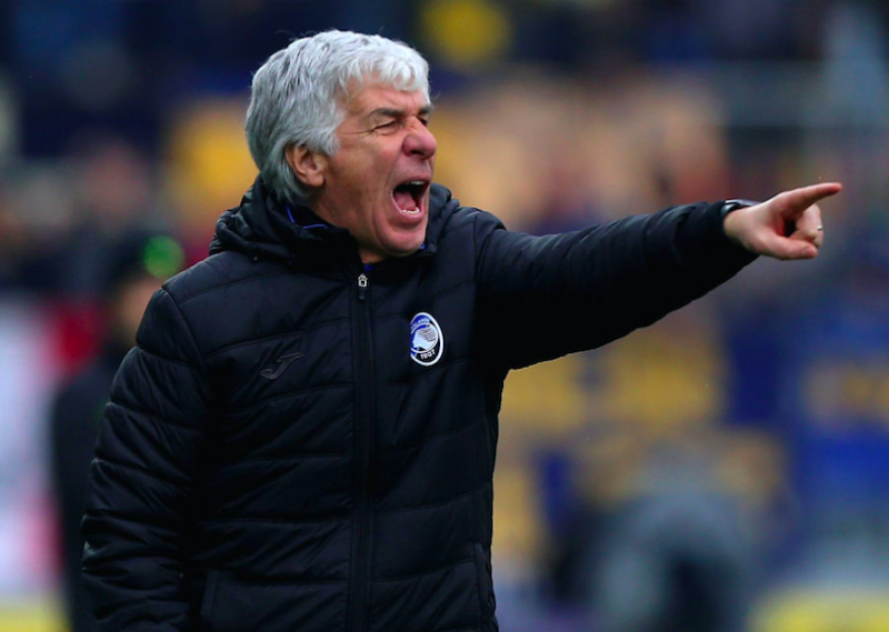 """Gasperini: """"Mancini ha cambiato marcia, che bravo Toloi. Ho detto a Petagna…"""""""