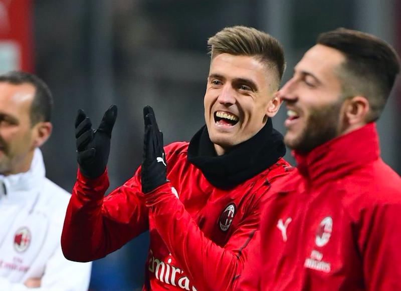 """Milan, ecco l'undici che giocherà stasera. La Gazzetta: """"Chi teme il riposo di Piatek…"""""""