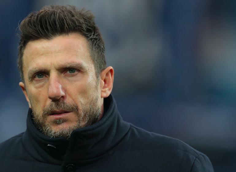 "Di Francesco: ""Dzeko conserva i gol! Schick, stop al flessore: Manolas migliora, Olsen no"""