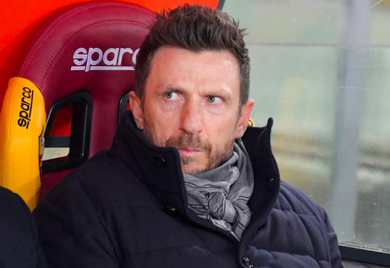 """Di Francesco: """"Manolas c'è, Olsen in dubbio! Quando tornano Schick, Perotti e Under"""""""