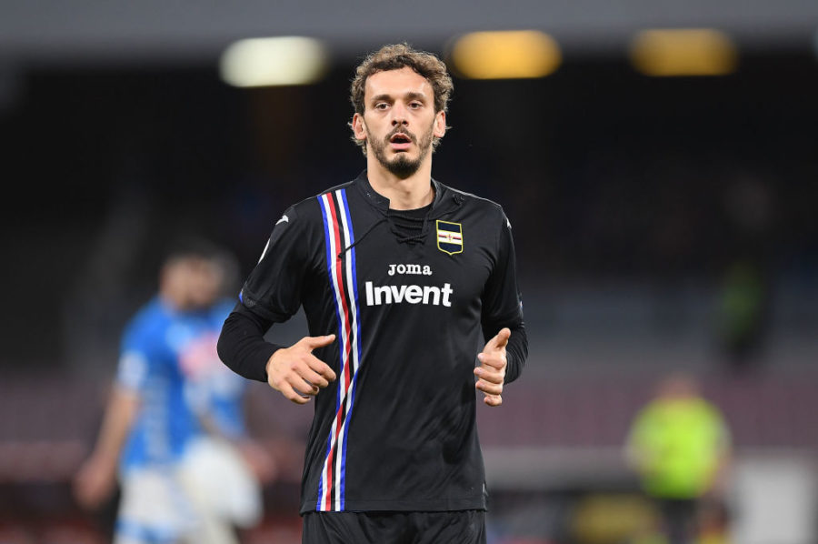Sampdoria-Frosinone, le formazioni ufficiali: Giampaolo lancia Gabbiadini, fuori Ramirez
