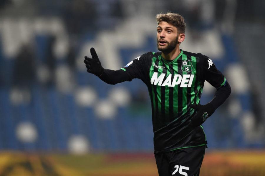 """Retroscena De Zerbi: """"Berardi è partito fuori con la Lazio per un problema fisico"""""""