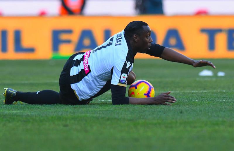 """Udinese, Nicola rivela: """"Okaka è uscito a causa di un infortunio"""""""