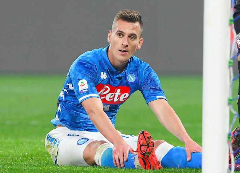 Napoli, perché Lozano salterà sicuramente la Fiorentina. E Milik è a rischio