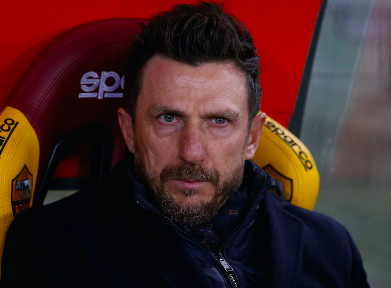 """Di Francesco: """"Zaniolo, pensavo di più. Olsen è top! De Rossi, vi nascondo la formazione"""""""