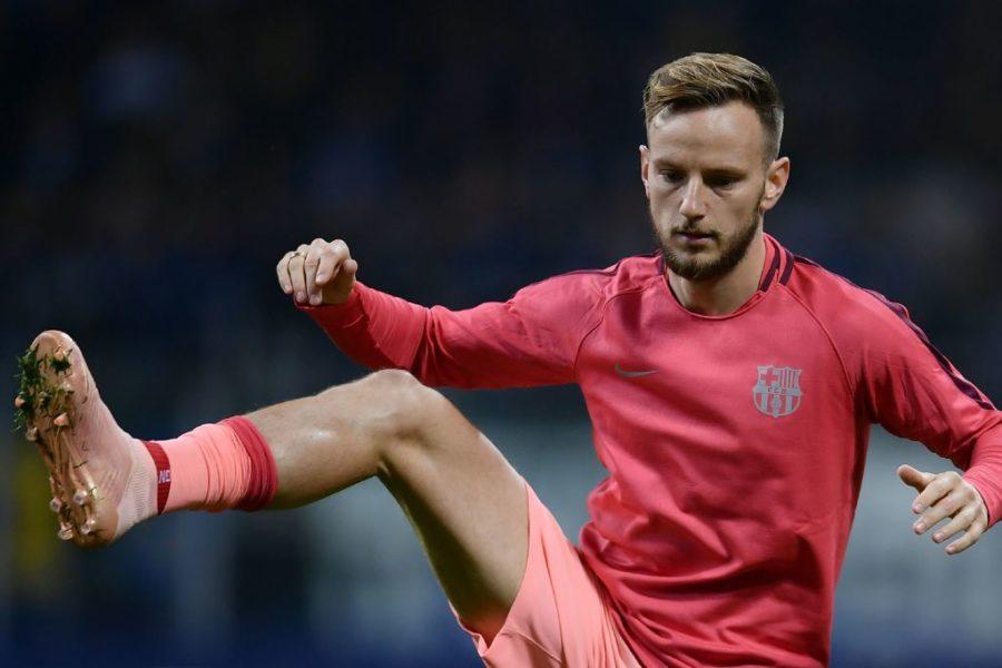 """Rakitic: """"Lautaro è tra i più forti, felice se viene al Barcellona. Ma io non c'entro"""""""