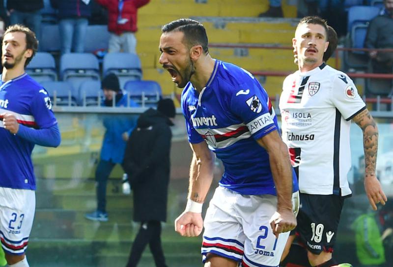 Sampdoria-Atalanta, le formazioni ufficiali: Quagliarella c'è! Gioca Hateboer, fuori Palomino
