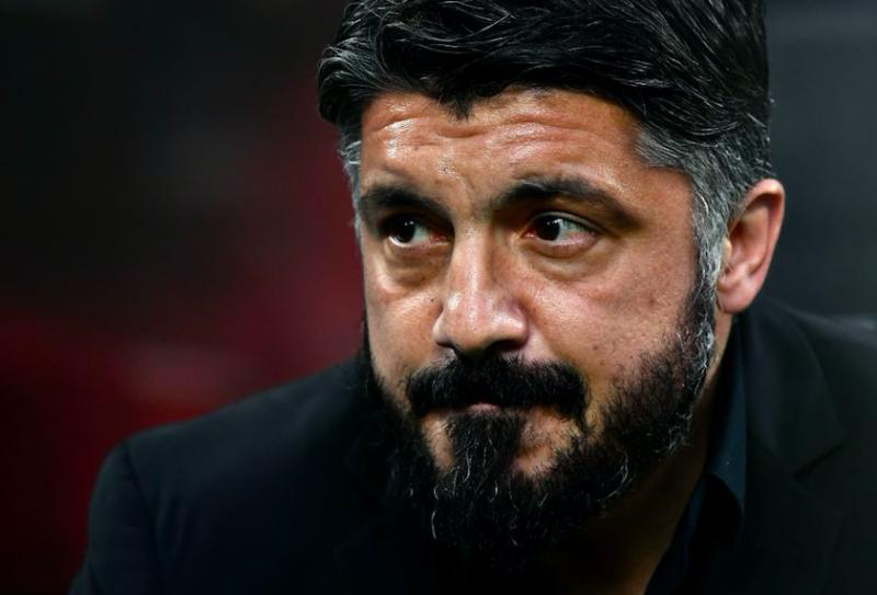 """Gattuso: """"Piatek è in crisi e la colpa non è sua! Bravo Caldara, che perdita Paquetà"""""""