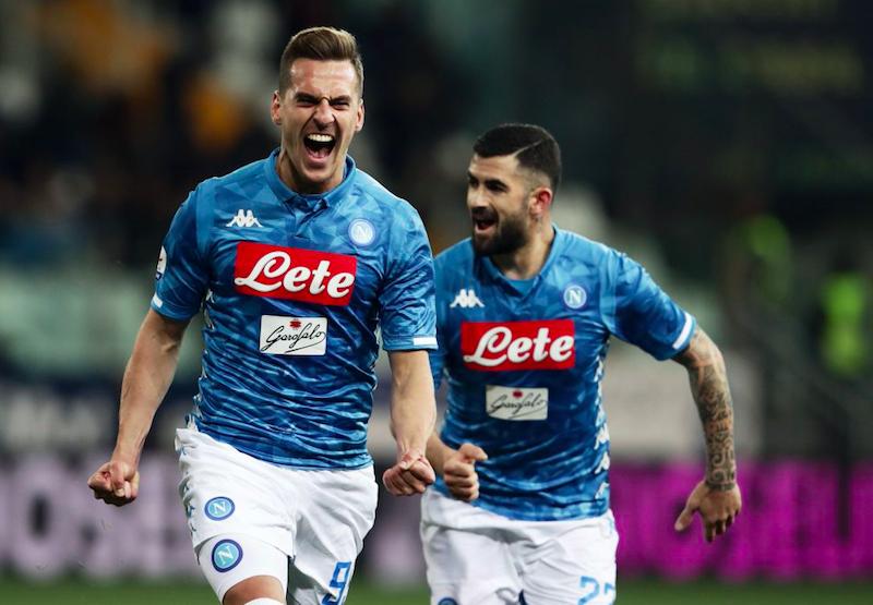 Napoli, le ultime di formazione: riecco Callejon, dubbi su Mertens e i terzini