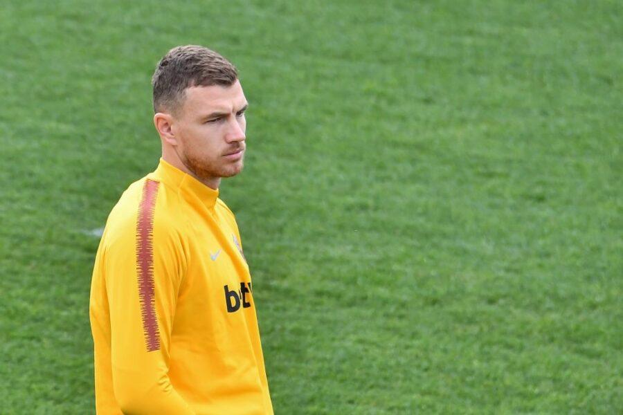 """Dzeko, la Gazzetta: """"Presto sarà un nuovo rinforzo dell'Inter, andrà da Conte"""""""