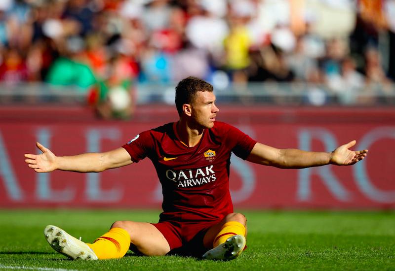 """Dzeko, la Gazzetta: """"Edin dice che all'Inter può vincere, invece alla Roma…"""""""