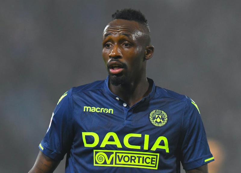 Udinese, si ferma ancora Fofana: infortunio muscolare e cambio obbligato