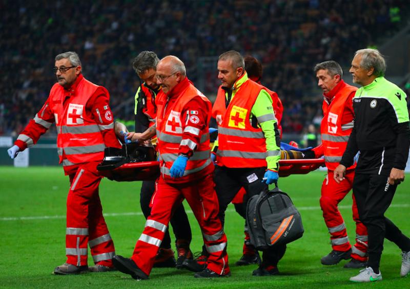 """Udinese, tegola Behrami. Sky: """"Si è rotto la caviglia, stagione finita"""""""