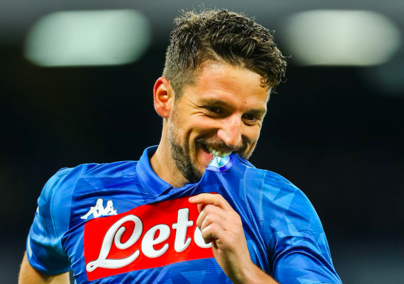 """Mertens: """"Non è stata la mia ultima partita al Napoli. Mi do un 10 per quest'anno"""""""