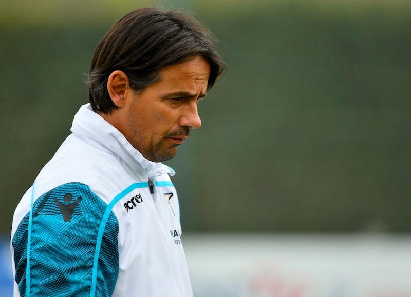 """Inzaghi: """"Ho due dubbi, non convocati Marusic e Radu. Correa e Milinkovic, più gol!"""""""