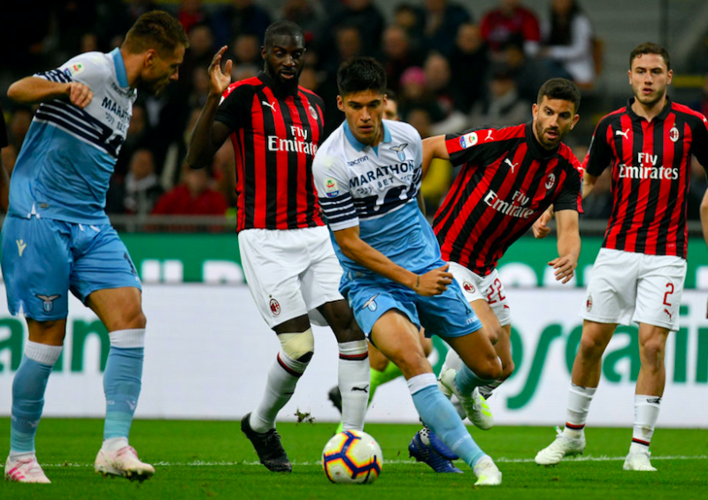Lazio in ansia per Correa: fuori per infortunio contro il Milan, esce in lacrime