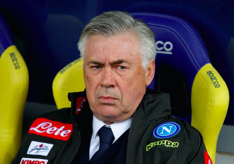 """Ancelotti: """"Pronti a fare due colpi! Tolto Mario Rui dal mercato, così cambierò modulo"""""""
