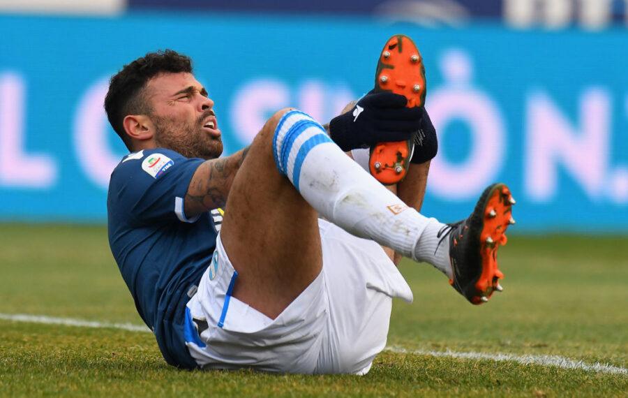 Petagna non si è allenato: problema al ginocchio, cosa filtra per Spal-Napoli