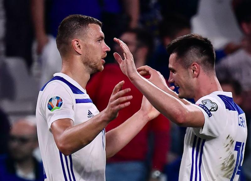 """""""Vai all'Inter, è fatta?"""". Edin Dzeko risponde così dopo Italia-Bosnia"""