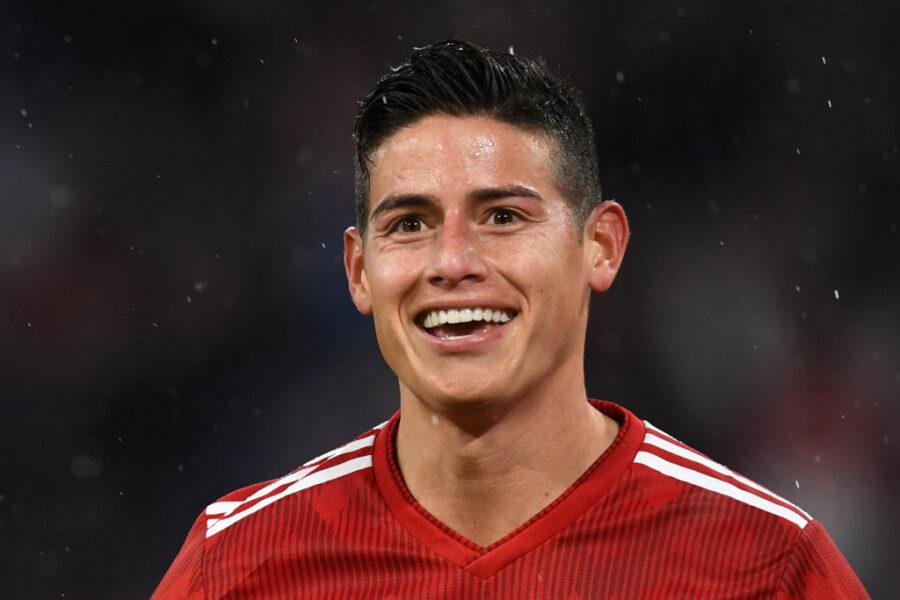 """Sky: """"Il Napoli vuole tornare da Madrid con James come affare fatto"""""""