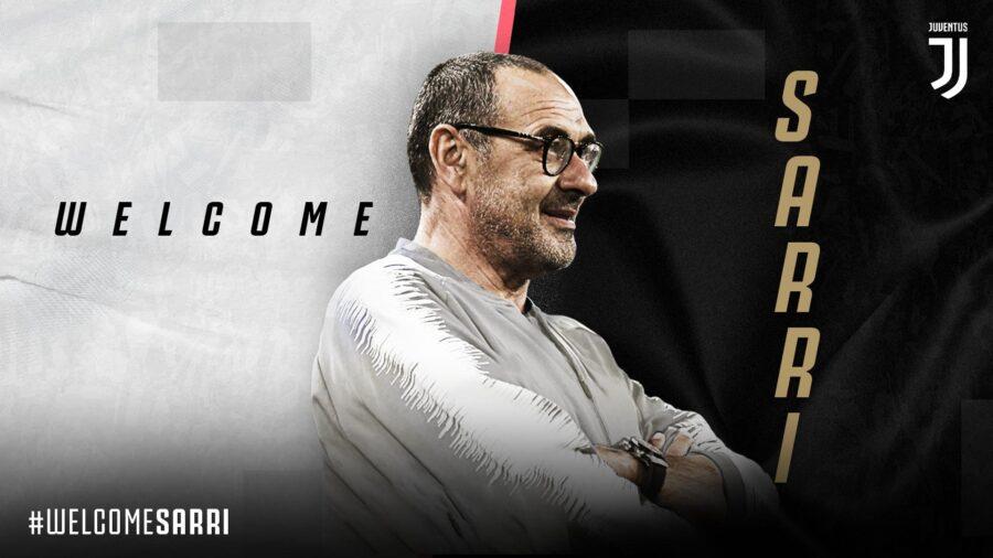 UFFICIALE – Maurizio Sarri è il nuovo allenatore della Juventus! Ecco il comunicato
