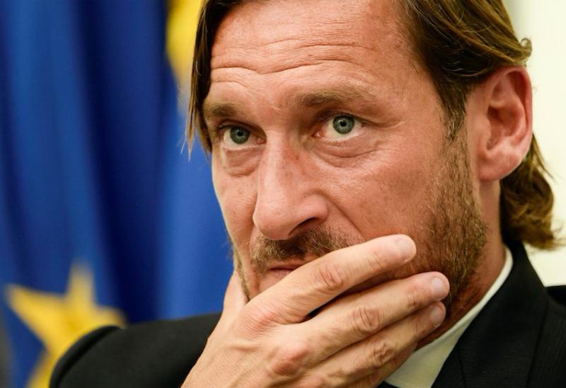 """Totti: """"C'è un talento italiano per cui farei carte false: sarà un top, come Gerrard!"""""""