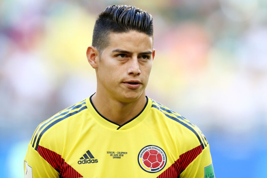 "James Rodriguez: ""Io al Napoli? Decide il Real Madrid. Ho un italiano pessimo!"""