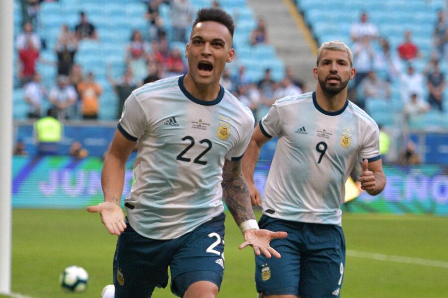 Lautaro è una macchina: segna ancora con la sua Argentina, Conte lo segue