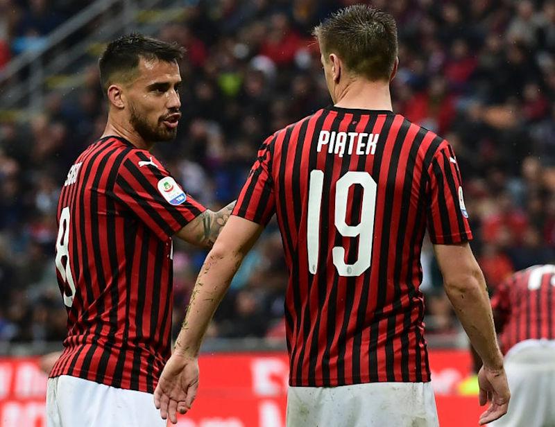 Subito Theo Hernandez, Calha mezzala, il ruolo di Suso: l'1-1 del Milan contro il Novara
