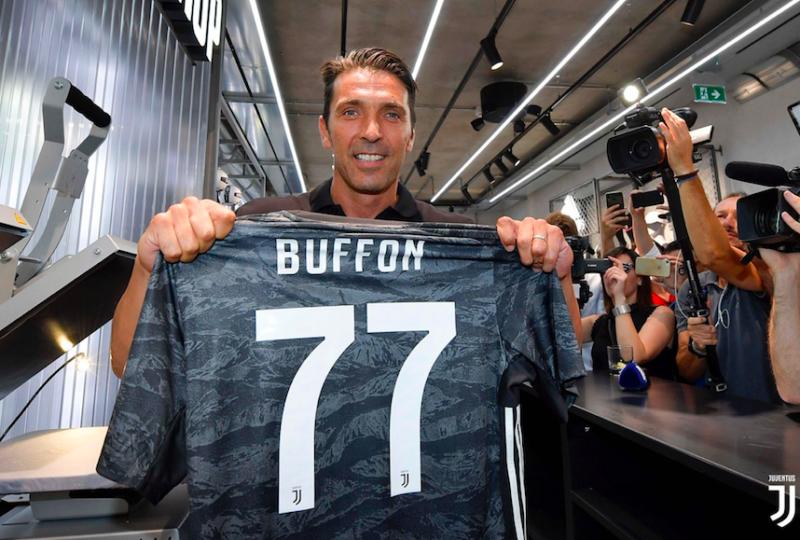 """🎥 VIDEO – Buffon: """"Volevo la maglia di Daniel Maldini, ecco perché"""""""