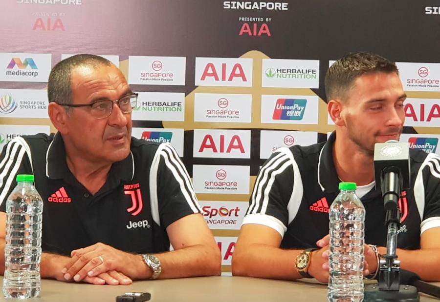 """Sarri: """"Ho deciso dove giocherà Ronaldo! Pogba mi piace molto. Per Higuain e de Ligt…"""""""
