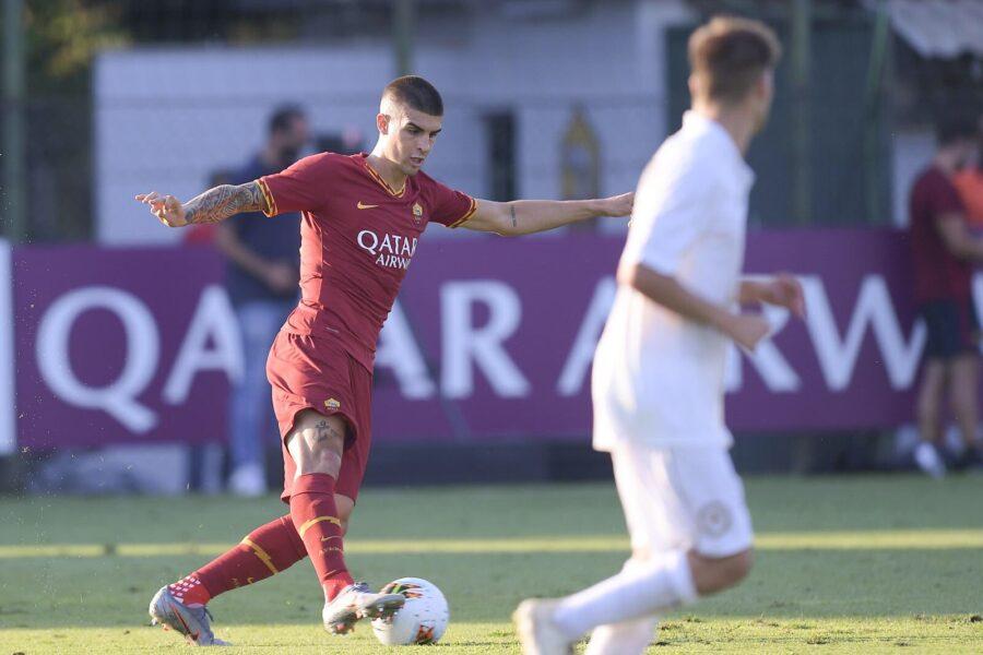 La Roma ne fa 10: doppio Dzeko! Super Spinazzola, Florenzi fa l'ala, esordio Mancini