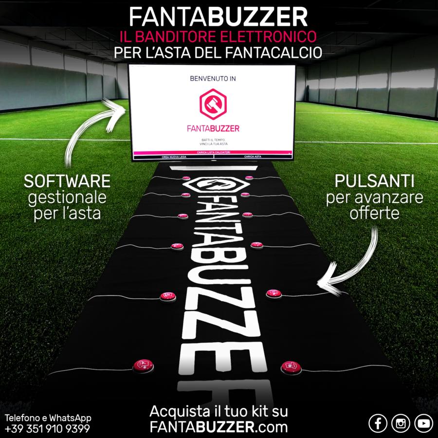 FantaBuzzer, il battitore d'asta professionale: una risorsa per il vostro fantacalcio