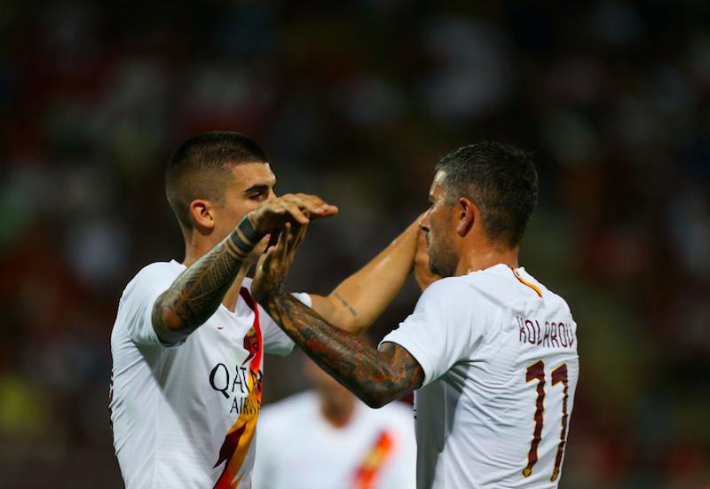 Roma, top e flop post Arezzo: Dzeko da urlo, Perotti e Zaniolo in palla, in ritardo Mancini
