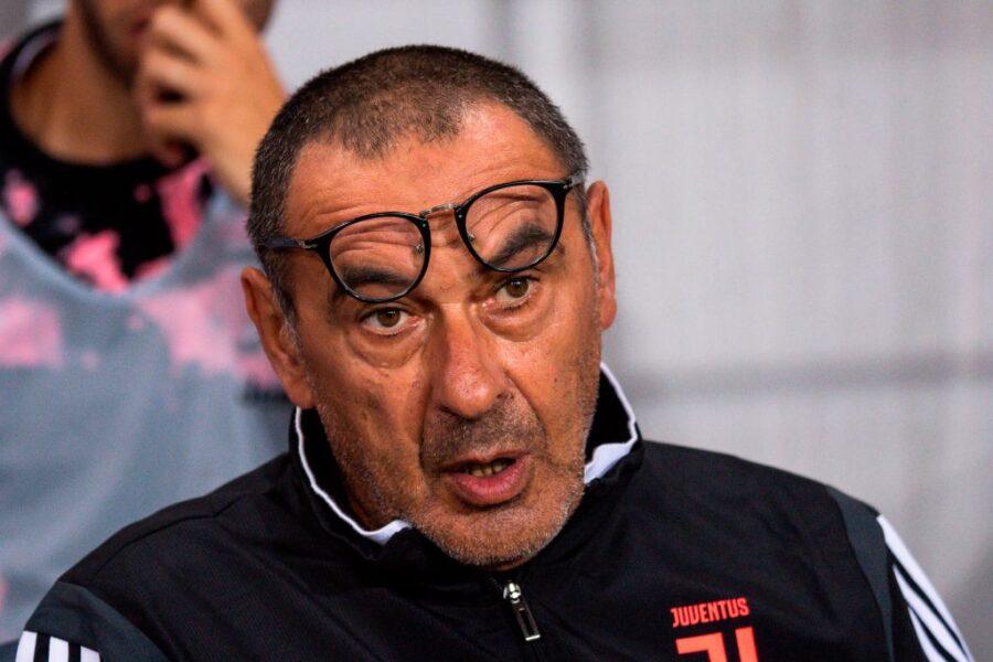 "Gazzetta: ""Sarri ha già in mente i titolari in attacco per la Juve di Firenze"""