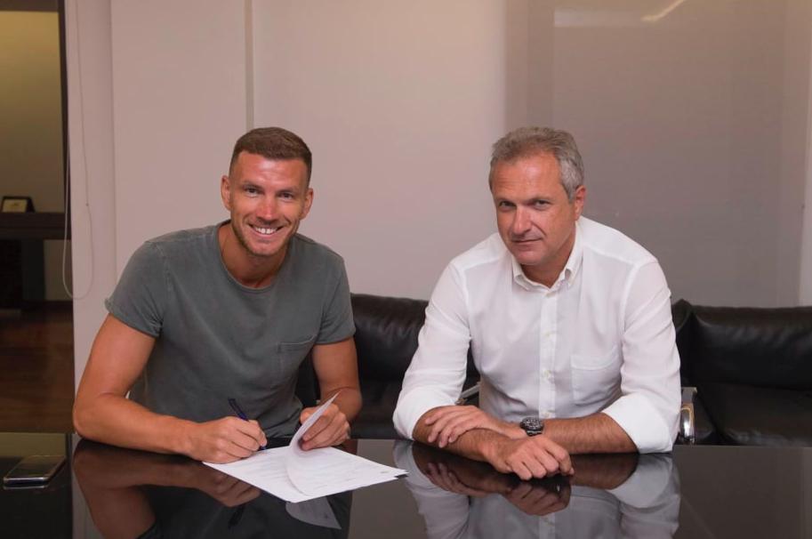 """Dzeko dice addio all'Inter: """"A Roma posso vincere! Sono rimasto perché…"""""""