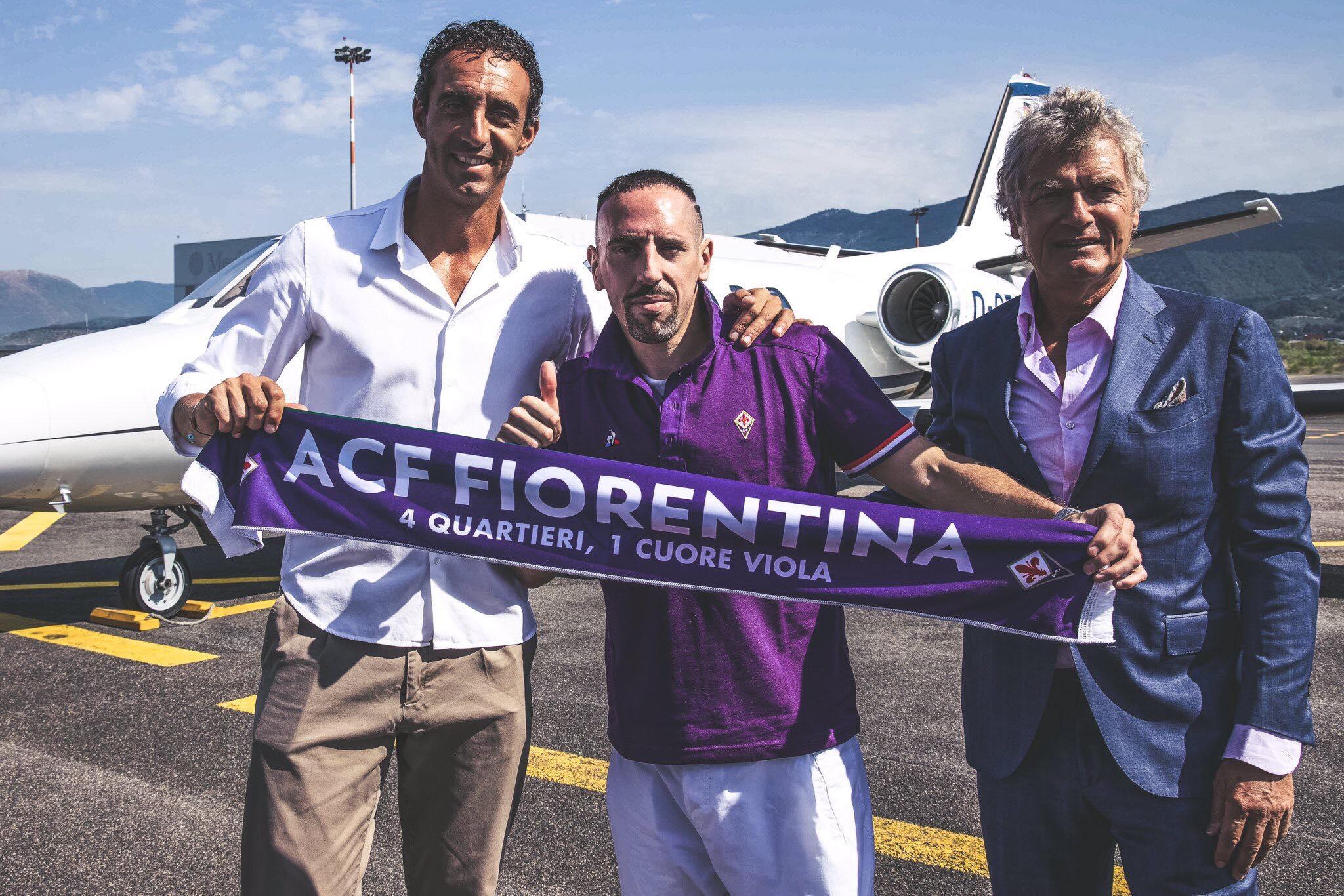UFFICIALE – Fiorentina, ecco a te Ribery: fissata la presentazione allo stadio