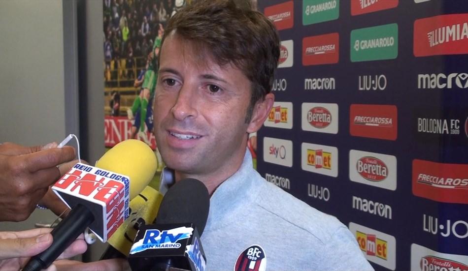 """Bologna, De Leo: """"Che colpo Medel, giocheremo così. Dijks? Nessun freno"""""""