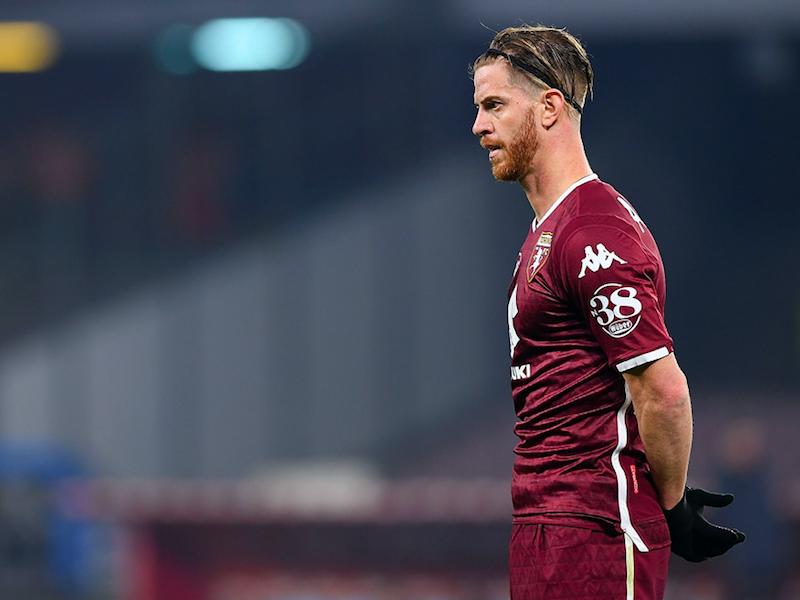 Torino, infortunio per Ansaldi: problema muscolare e cambio contro il Sassuolo