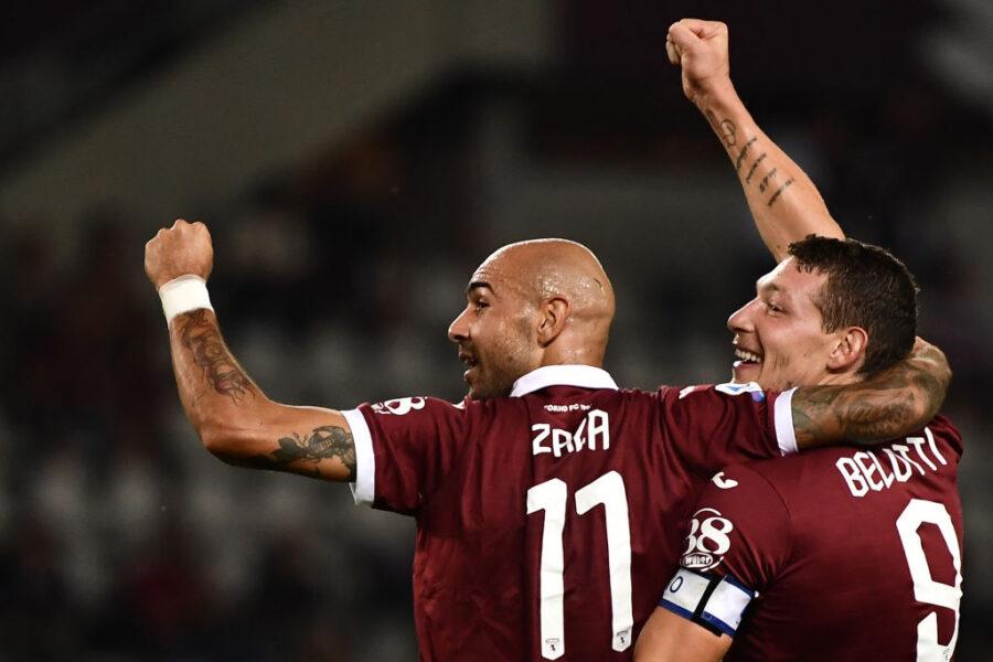 Torino, le prove di formazione per il Verona: Belotti resta in dubbio